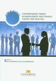 Contemporary trends in management and finanse,